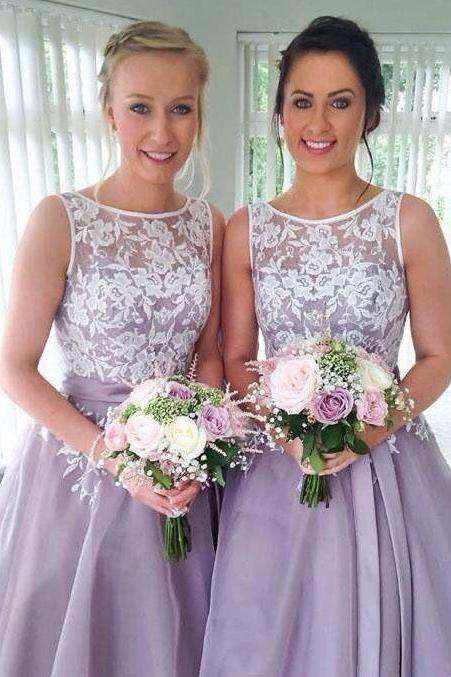 Short bridesmaid dresses, popular bridesmaid dress, lace bridesmaid dress,A line bridesmaid dresses, prom dress, wedding party dress